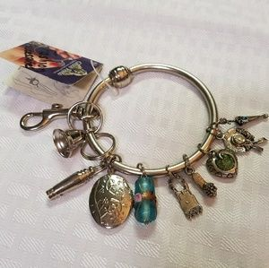Green Rhino Key Bracelet